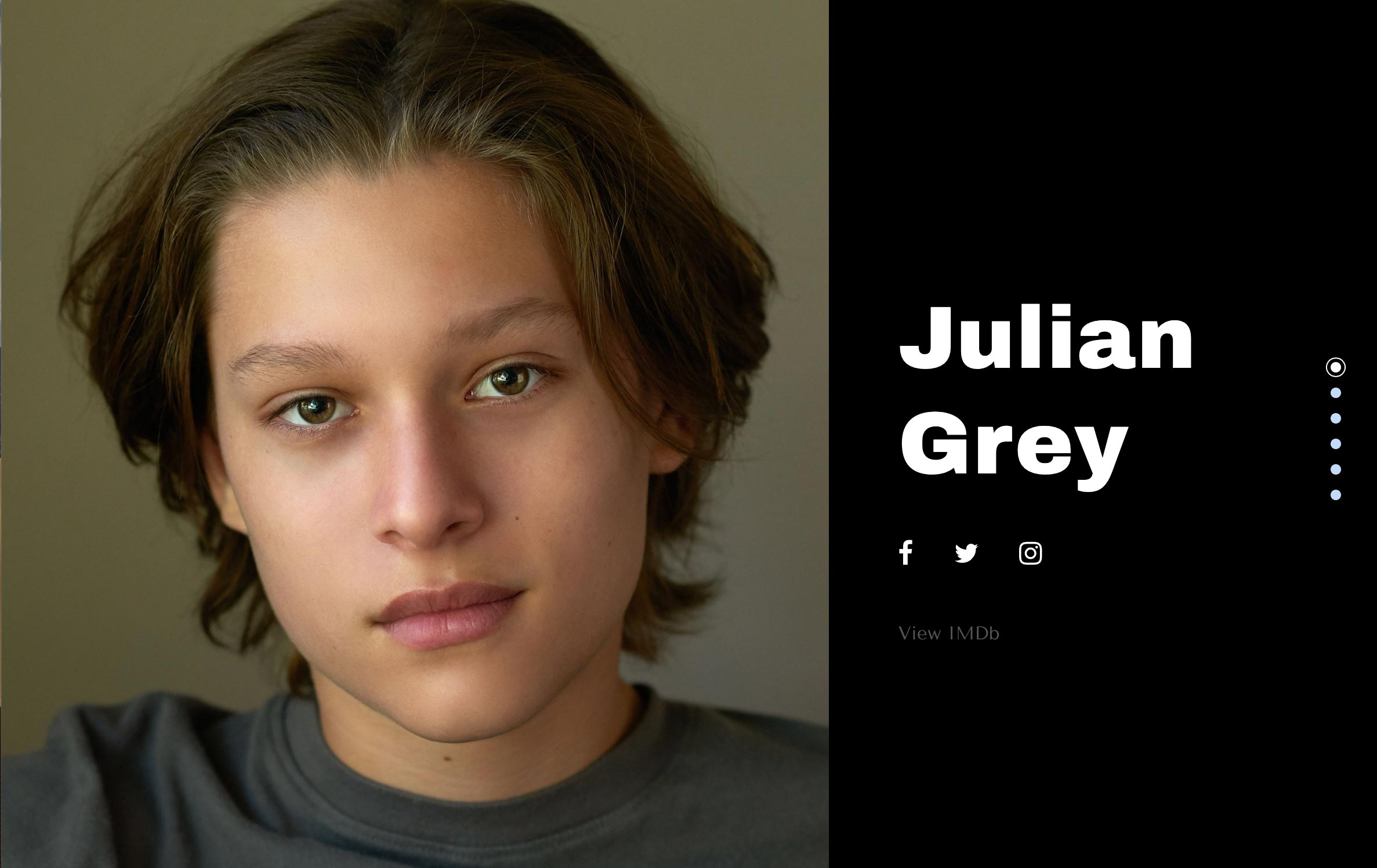 Julian Grey Actor Website