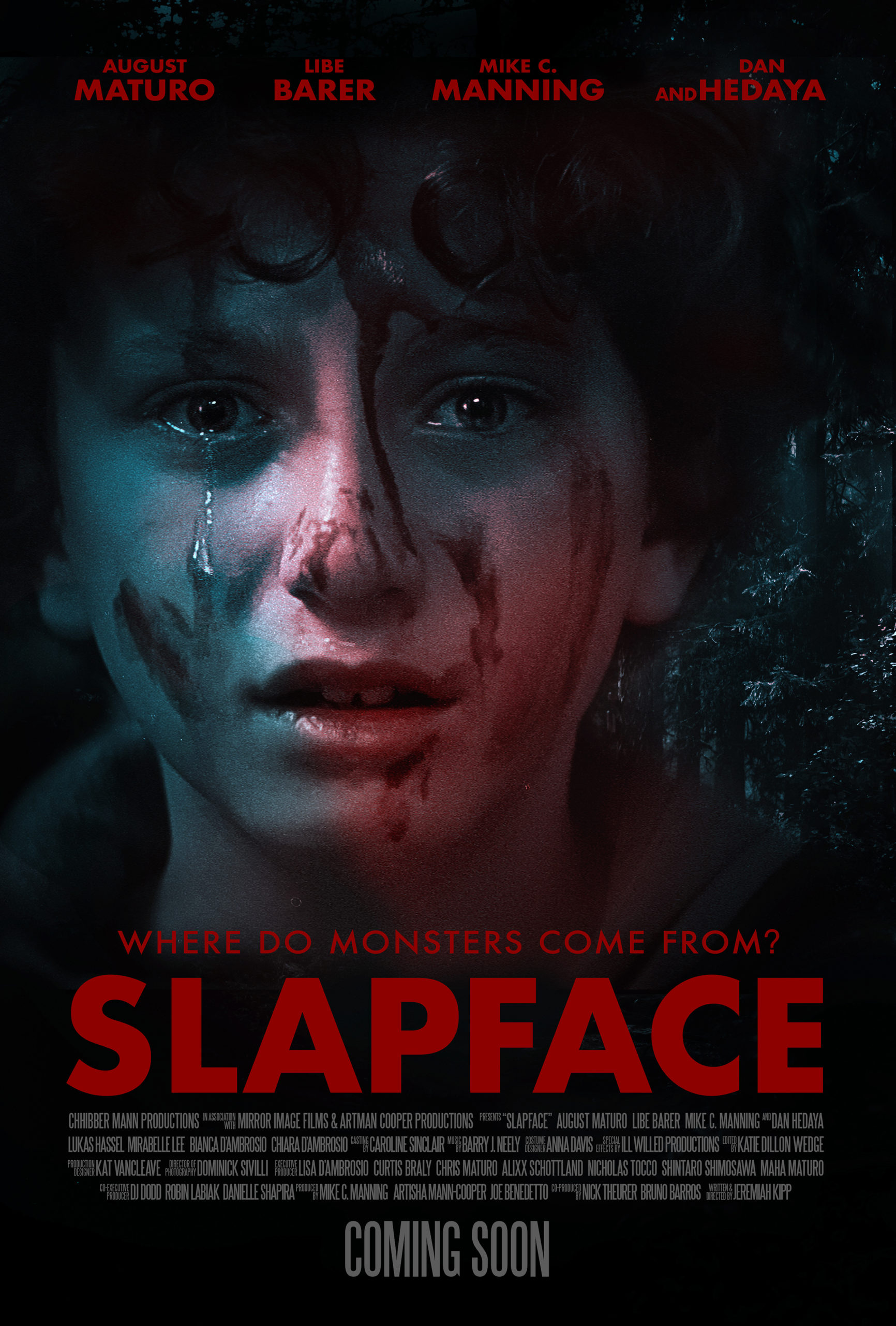 Slapface Movie Poster Design